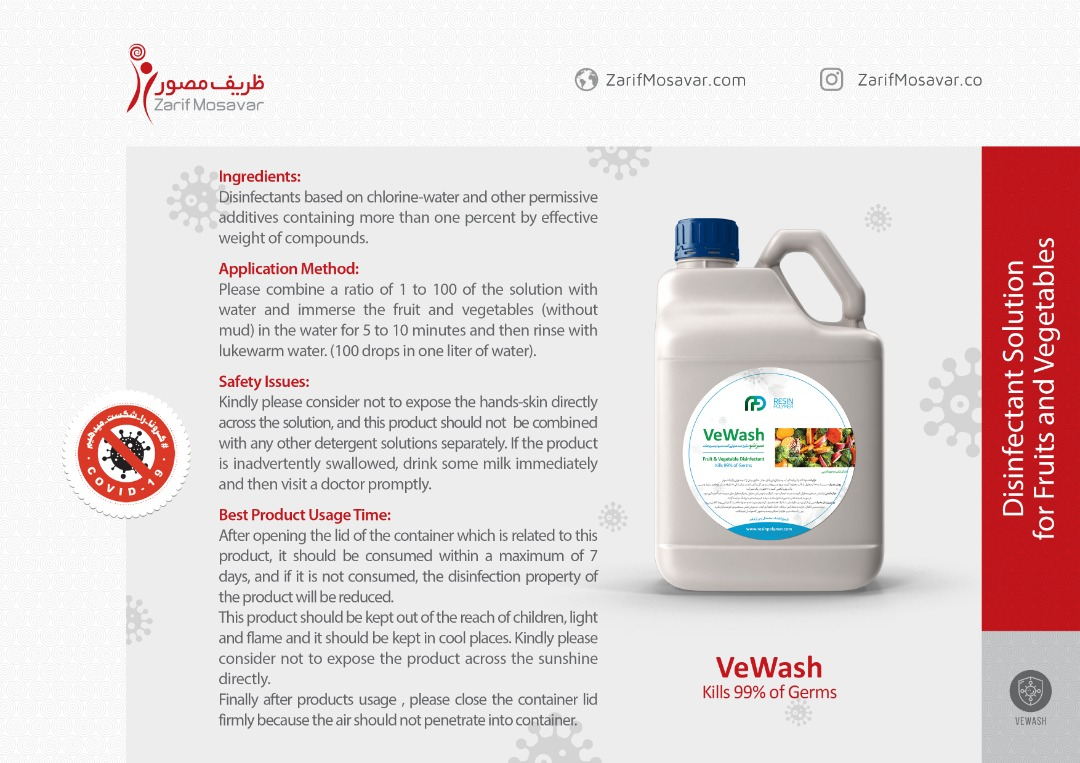 Disinfectant Solution for Fruits and Vegetables_AntiCorona