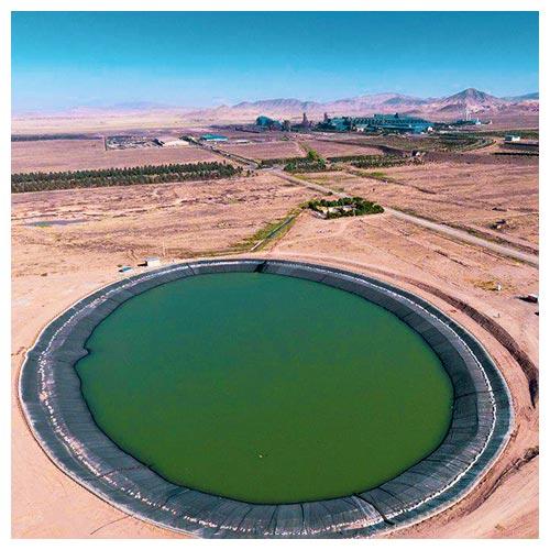 ساخت استخر ژئوممبران-استخر ذخیره آب کشاورزی- استخر کشاورزی - ظریف مصور