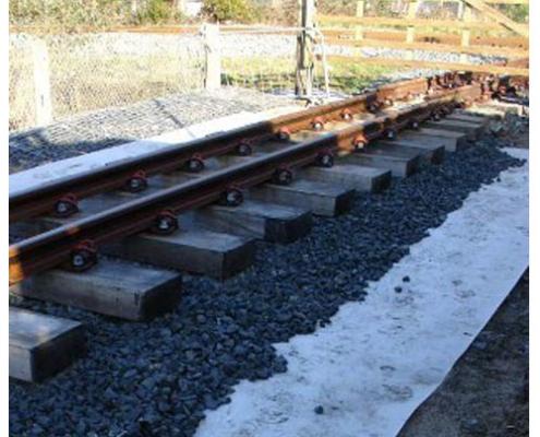 ژئوتکستایل و راه آهن-ظریف مصور