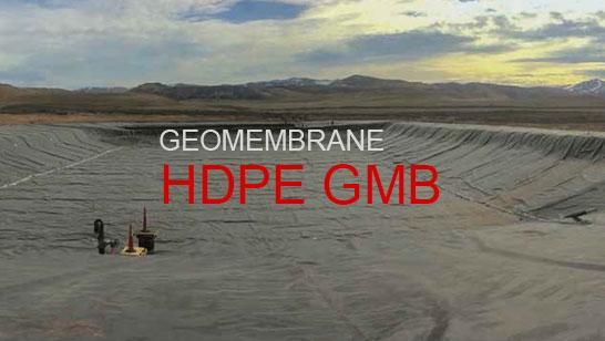 HDPE GMB geomembrane