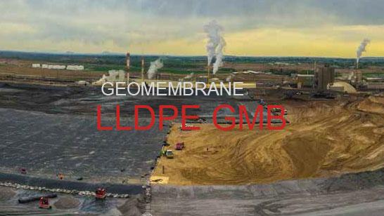 LLDPE GMB geomembrane