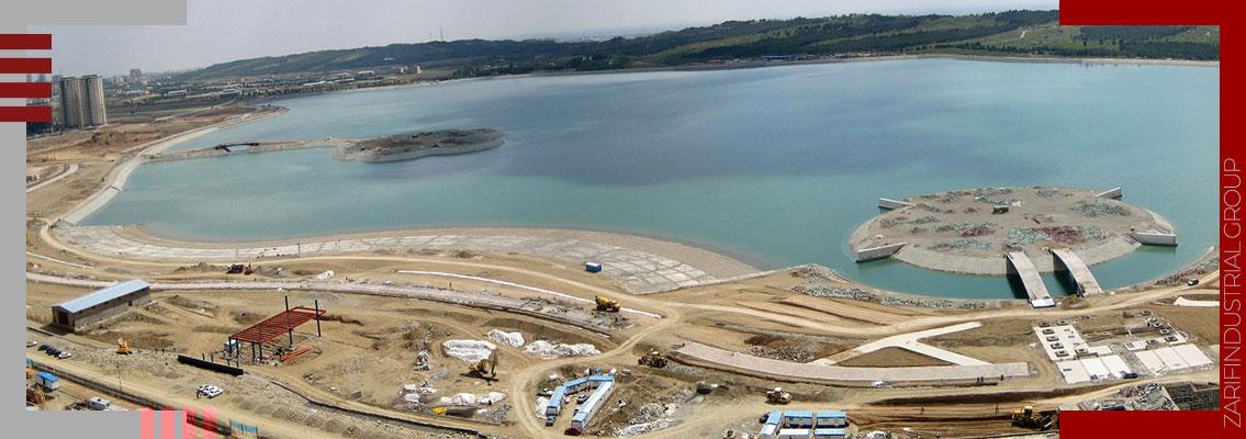 احداث دریاچه مصنوعی-Construction of an artificial lake