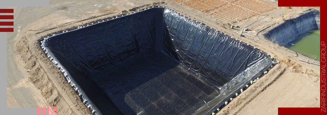 استخر ذخیره آب کشاورزی - Agricultural water storage pool