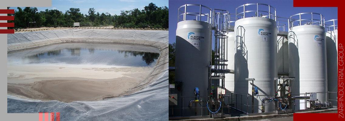 ایزولاسیون مخازن فاضلاب مواد شیمیایی- Isolation of chemical wastewater tanks