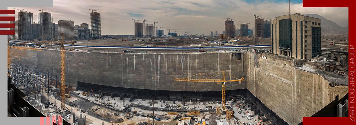 ایزولاسیون و زهکشی گود ساختمان - Insulation and drainage of the building pit