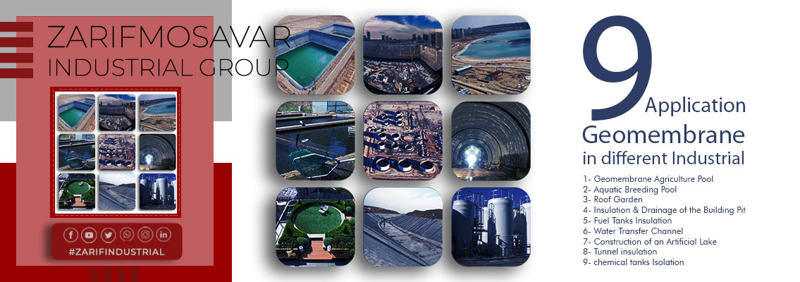 9 Applications of Geomembranes in various industries