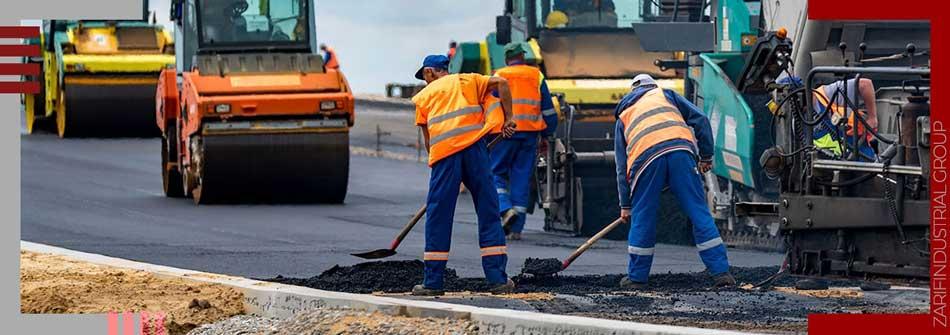 Final asphalt in Geotextile Installation