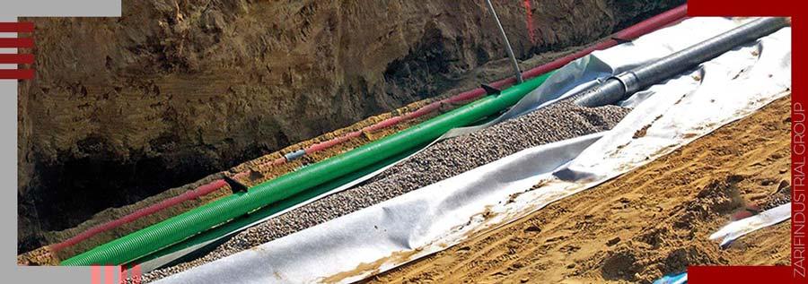 کاربرد ژئوتکستایل در سیستم جمعآوری مایعات و گاز