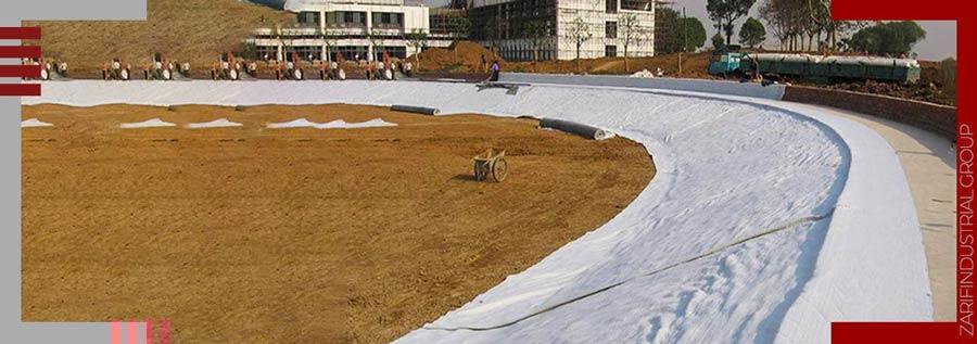 کاربرد ژئوتکستایل در احداث دریاچه مصنوعی