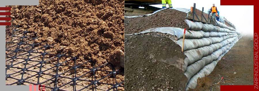 کاربرد ژئوتکستایل در فیلتر در سدهای خاکی