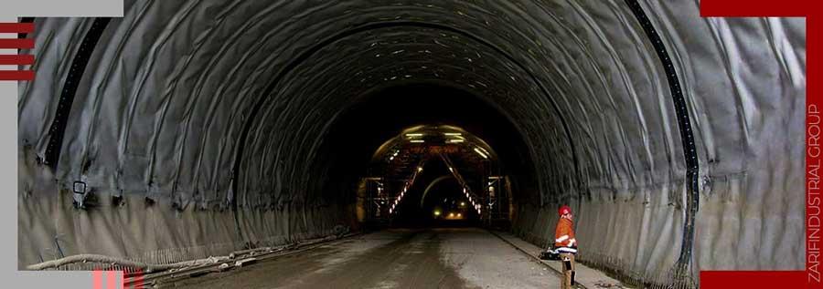کاربرد ژئوتکستایل در تونلها