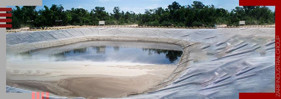 کاربرد ژئوتکستایل در فاضلاب و مواد شیمیایی